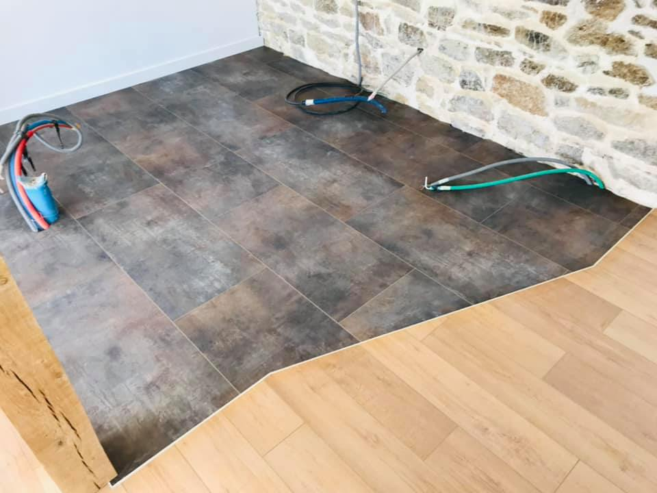 Revêtement de sol vinyle CoreTec